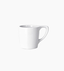 Not neutral lino mug   white