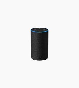 Amazon echo   charcoal fabric