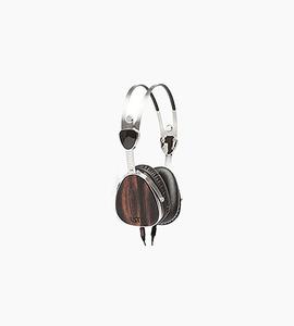Lstn encore on ear headphones   ebony wood