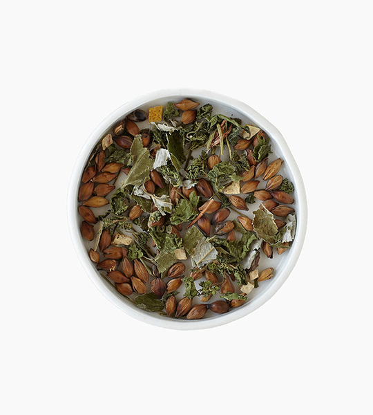 Leaves and flowers herbal tea   forest 4oz