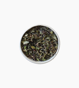 Leaves and flowers herbal tea   pure tulsi 1oz