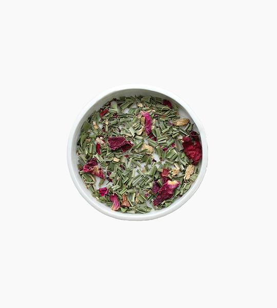 Leaves and flowers herbal tea   sweet rush 4oz