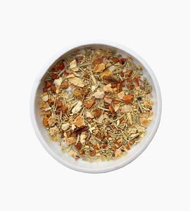 Leaves and flowers herbal tea   tumeric wellness 3oz