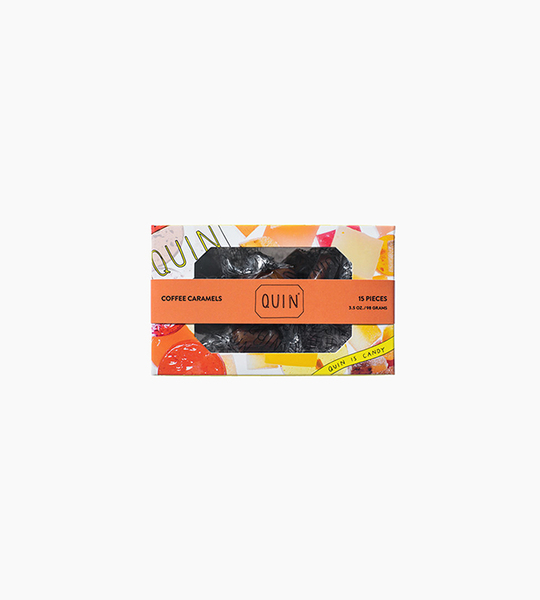 Quin candy coffee caramels