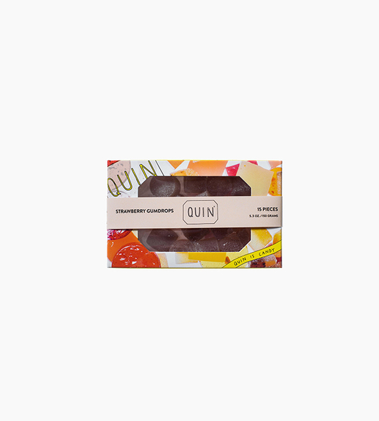 Quin candy strawberry gumdrops