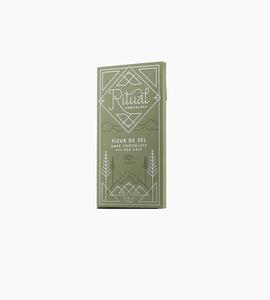 Ritual chocolate bars   fleur de sel