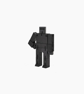 Areaware small cubebot   black