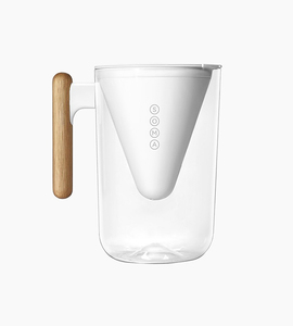Soma 10 cup pitcher   white  black