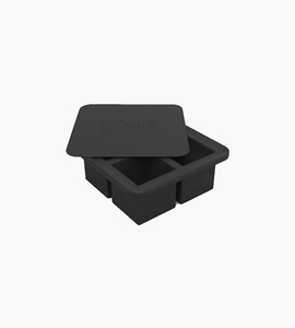 W p design extra large ice tray   charcoal