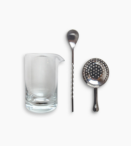 W p design the mixing glass set