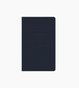 Public supply notebook   single 5x8 embossed   night shift