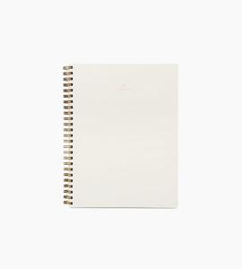 Appointedworkbooklinedcanvaswhite